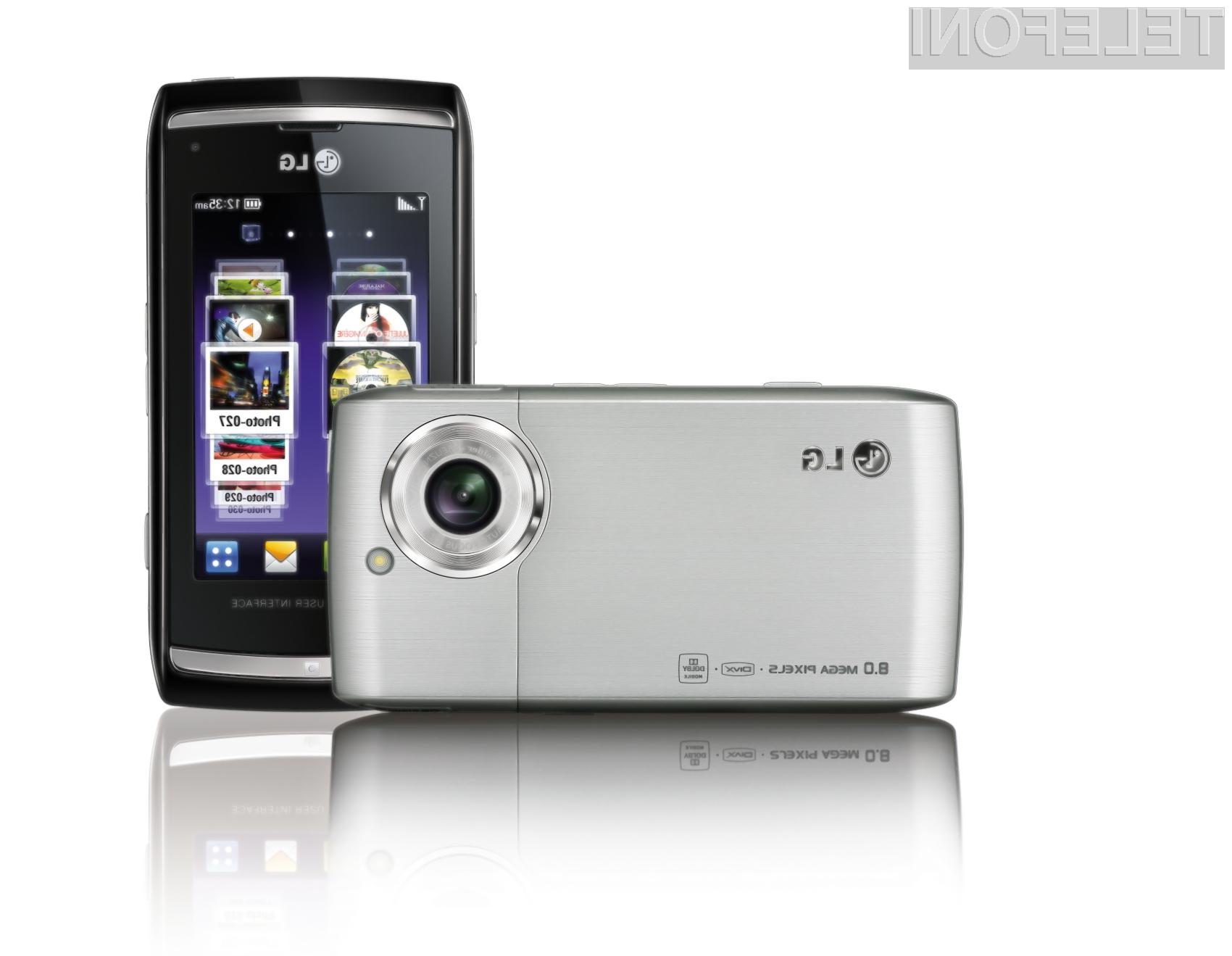 LG Viewty Smart - LG-GC900.