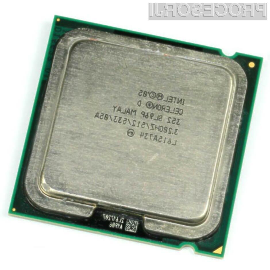 Procesor Intel Celeron 352 se je izkazal za odličnega navijalca!