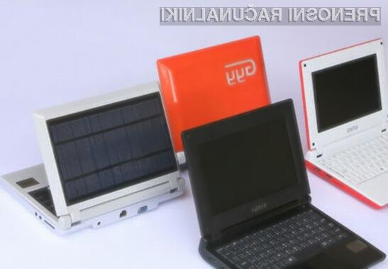 Ohišje prvega solarnega žepnega računalnika je v celoti izdelano iz biološko razgradljivih snovi.
