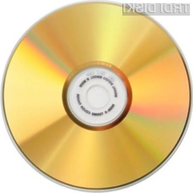 Zlato je odličen medij za trajno shranjevanje podatkov!