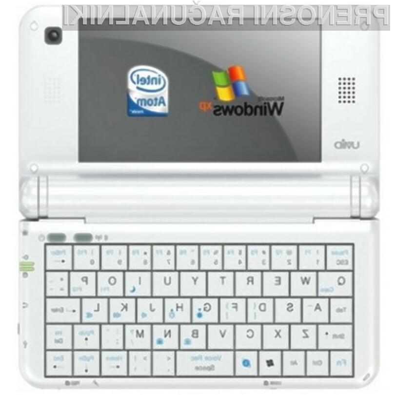 Miniaturni žepni računalnik je kot nalašč tudi za računalniške igre!