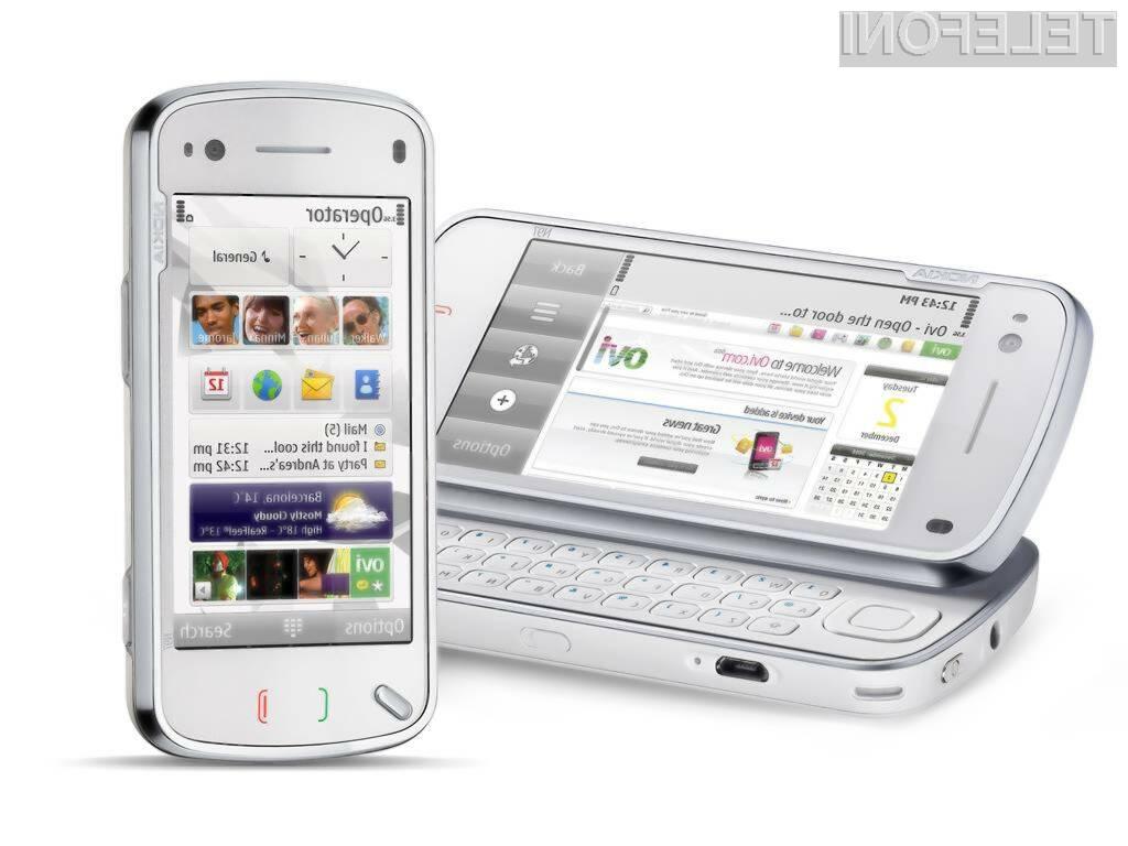 Touch screen, Wi-Fi, QUERTY, 32 GB, 5 mio kamera ... Potrebujete še kaj več?!