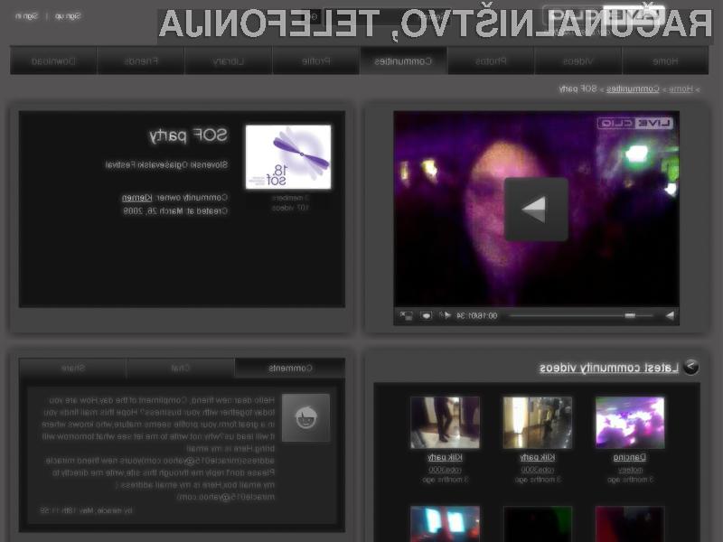 Live video streaming za mobilne napreva!