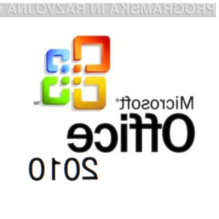 Bo urejevalnikih besedil Word 2010 ostal brez tehnologije Custom XML?