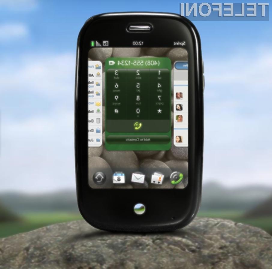 Mobilni telefon Palm Pre naj bi se na evropskih tleh tržil kot za stavo!