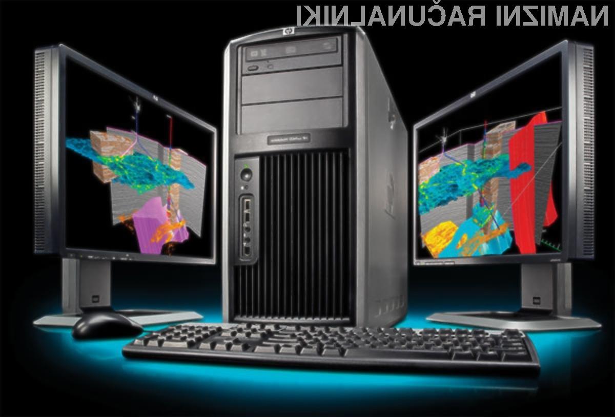 Nove delovne postaje HP xw9400 ponujajo izjemno računsko moč!