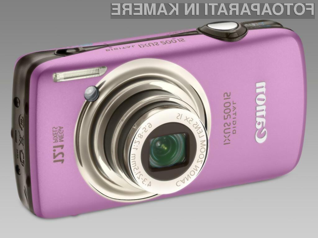 Canon predstavlja prvi Digital IXUS z na dotik občutljivim zaslonom in najtanjši širokokotni kompaktni fotoaparat doslej: Digital IXUS 200 IS.