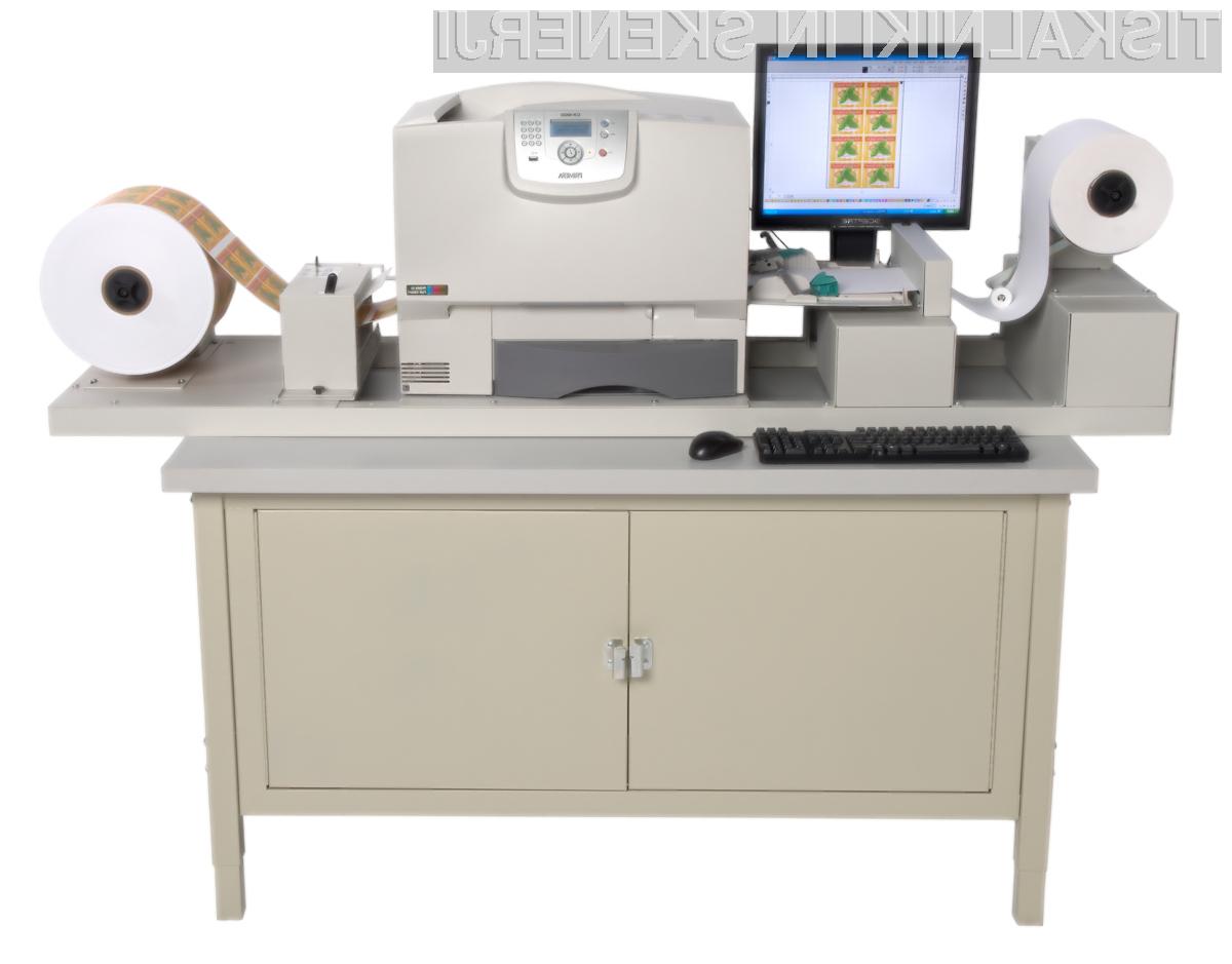 Vrhunska tehnologija Lexmarkovih laserskih tiskalnikov prilagojena tisku nalepk