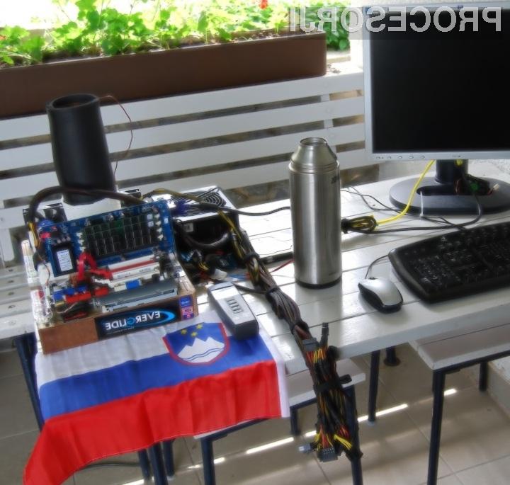 Bo slovenskima navijalcema v prihodnje le uspelo naviti Pentium 4 641 na več kot 8 GHz?