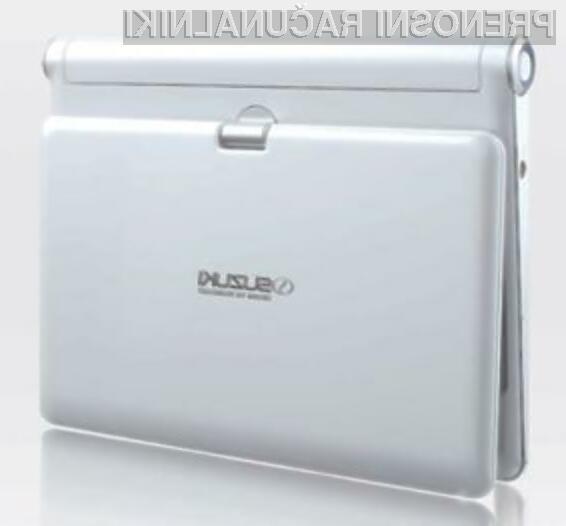 Suzukijev žepni računalnik je kot nalašč za deskanje po svetovnem spletu in enostavnejša pisarniška opravila.