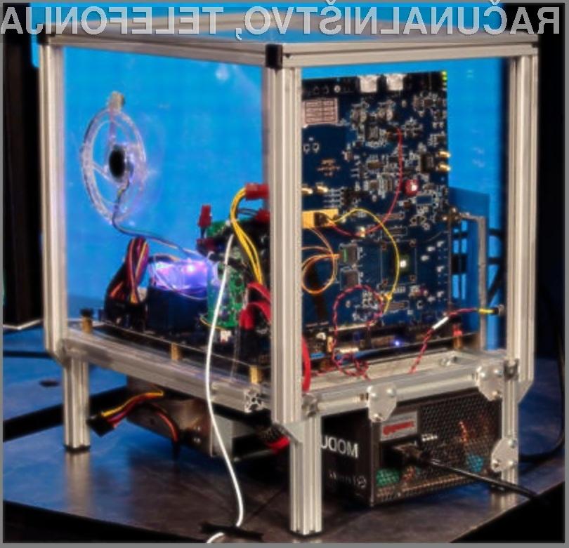 Prototip osebnega računalnika s tehnologijo Light Peak.