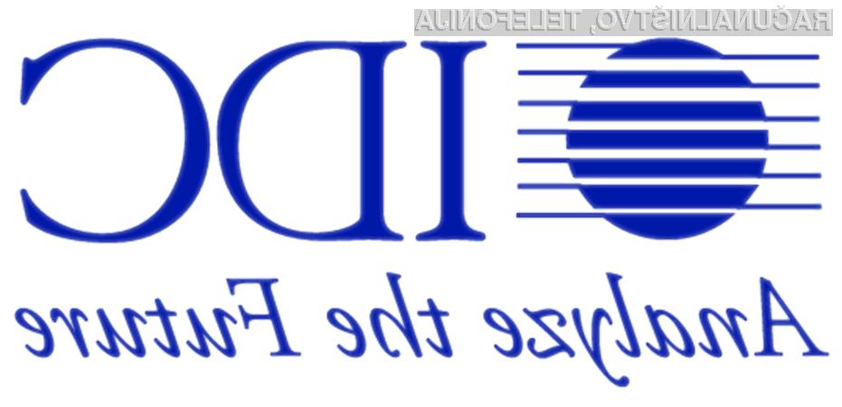 Raziskava analitske hiše IDC je zopet postregla z zanimivimi rezultati