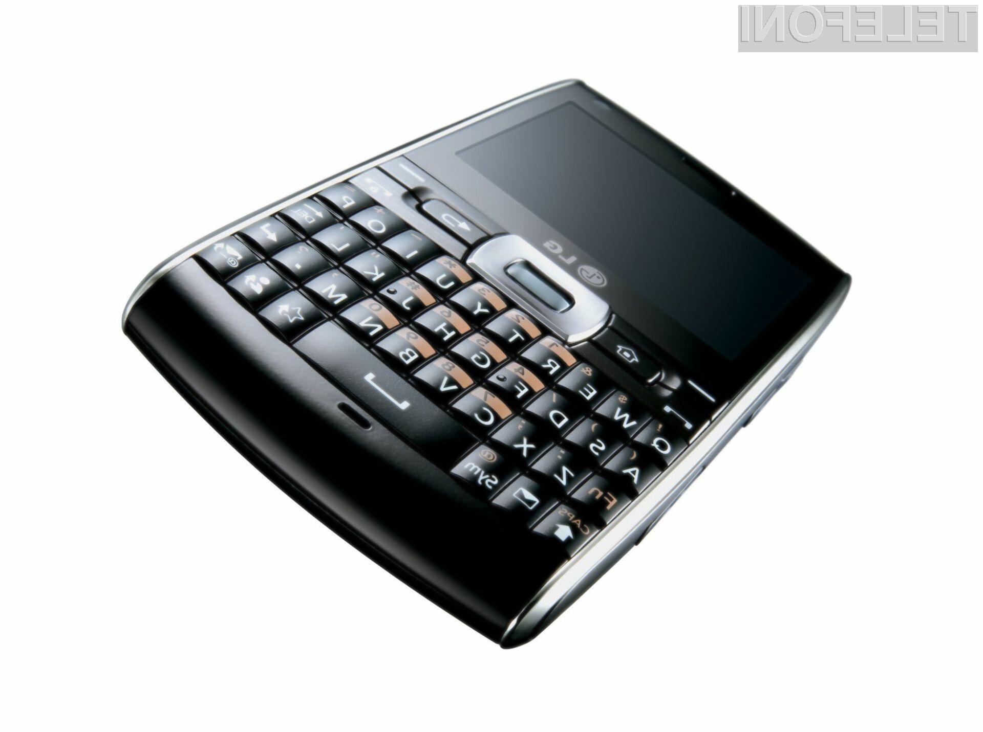 LG GW550: LG pripravlja produktno ofenzivo, temelječo na Microsoftovi platformi.
