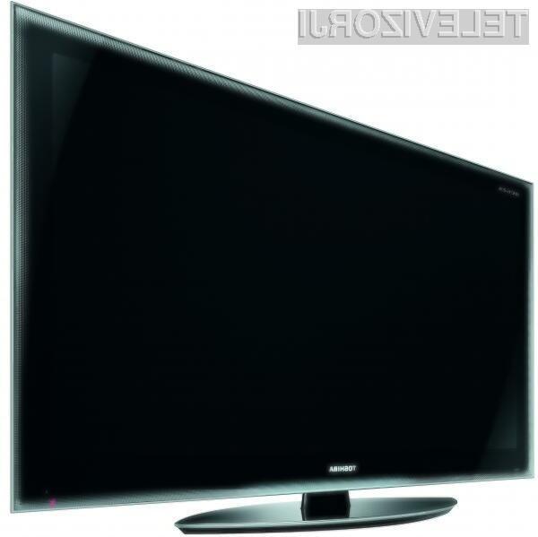 Novost bo Toshibinim televizorjem vsekakor dala novega zagona.
