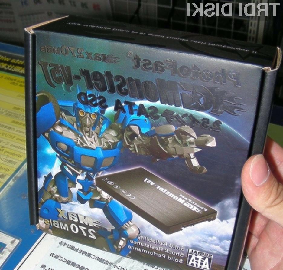 Pogon PhotoFast G-Monster V5J ponuja relativno dobro razmerje med ceno in zmogljivostjo.