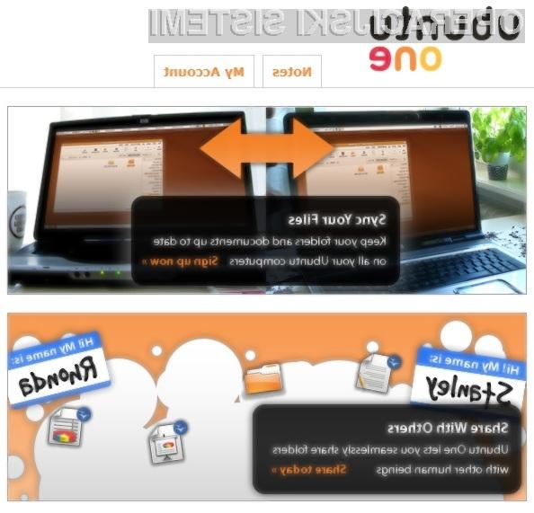 Spletna storitev Ubuntu One je največja pridobitev novega operacijskega sistema Ubuntu.