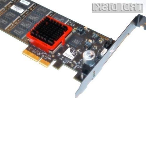 Za novi pogon Solid State PCIe podjetja Fusion-io je potrebno odšteti le 900 ameriških dolarjev.