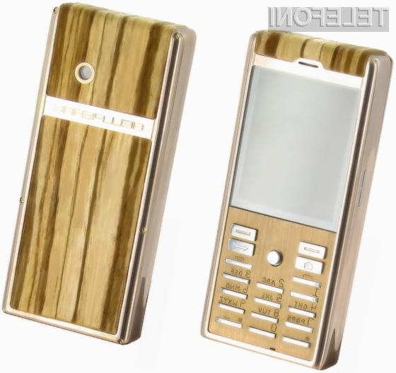 Cena mobilnika Bellperre Finest Wood je odvisna predvsem od želja in zahtev kupca.