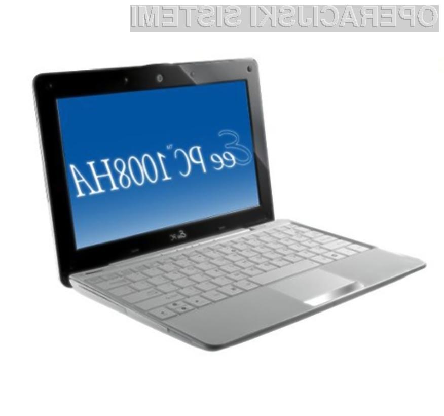 V kolikor potrebujete daljšo avtonomijo delovanja, potem si na žepni računalnik namestite Windows XP.