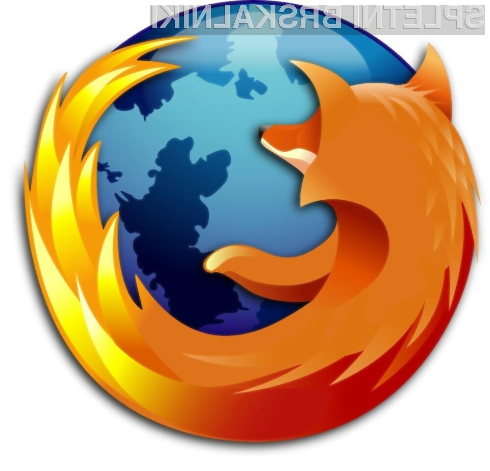 Hitrost prikazovanja spletnih strani se da pri Firefoxu še izboljšati.