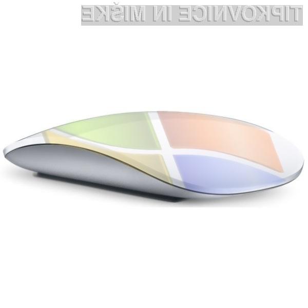 Računalniška miška Apple Magic Mouse se odlično prilega Microsoftovim Oknom!