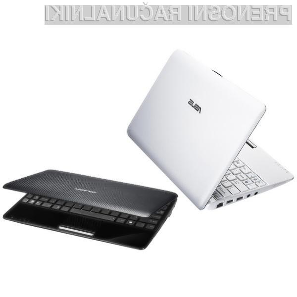 Asus EeePC 1005PE bo prvi žepni računalnik nasploh, ki bo opremljen z najnovejšo Intelovo platformo PineTrail.