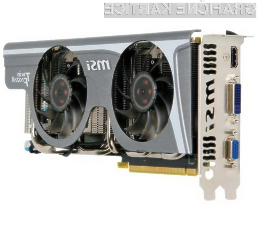 Grafična kartica MSI GeForce GTX 275 je prevzela lovoriko najhitrejše na planetu!