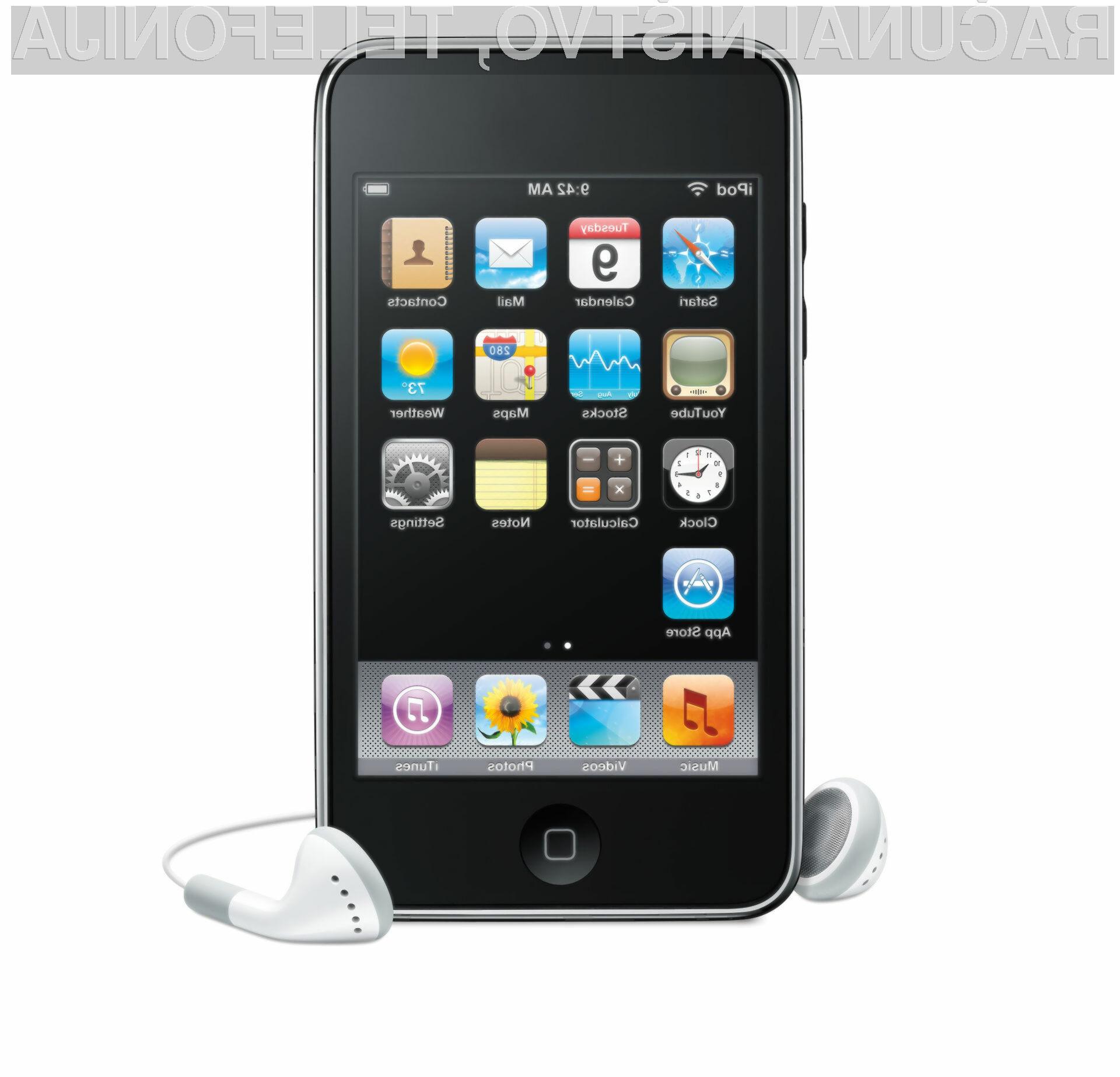 Bo operacijskemu sistemu Android uspelo osvojiti uporabnike Applovih predvajalnikov iPod Touch?
