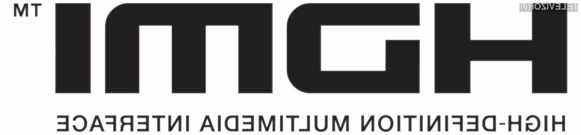 Tudi HDMI bo dobil podporo 3D videu.