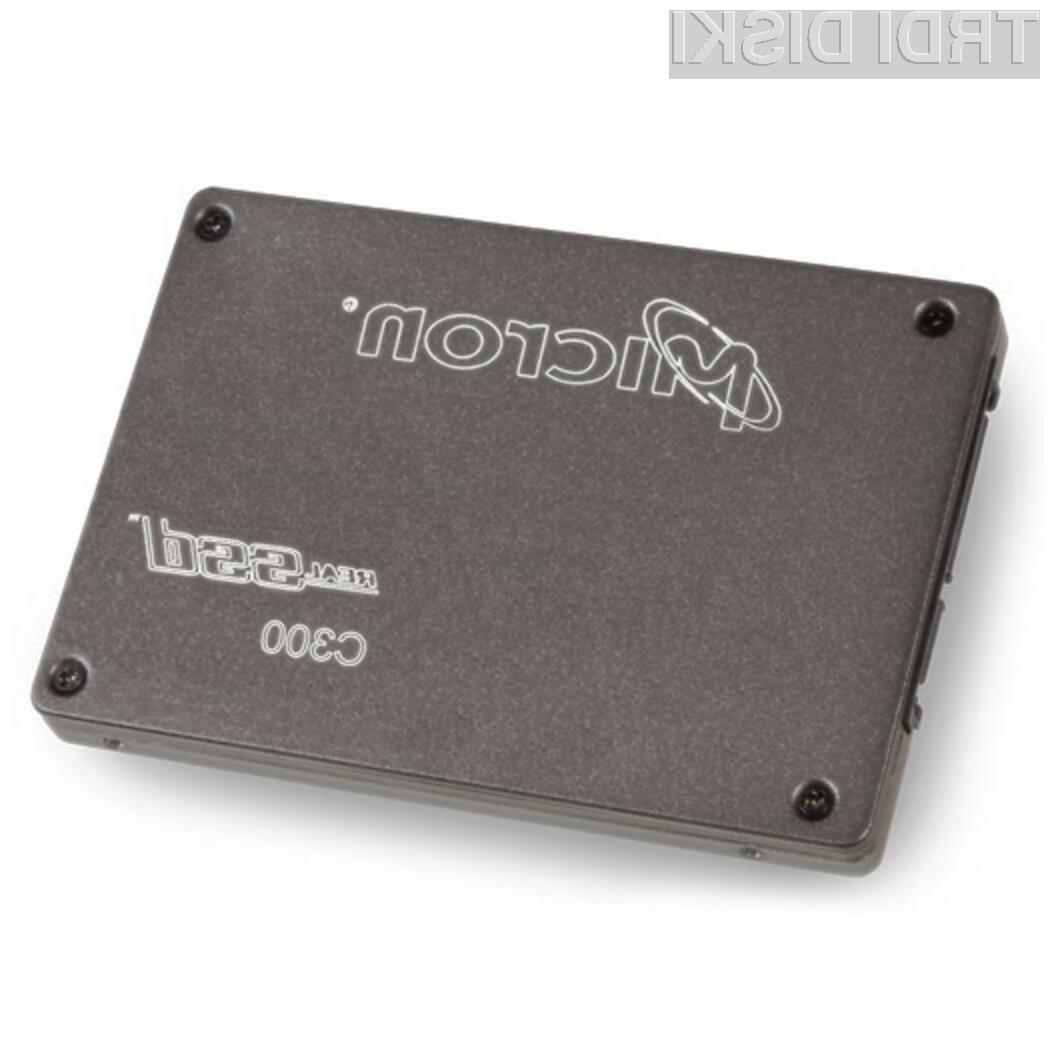 Pogon Solid State Micron RealSSD C300 SSD z vmesnikom SATA3 preprosto navdušuje!