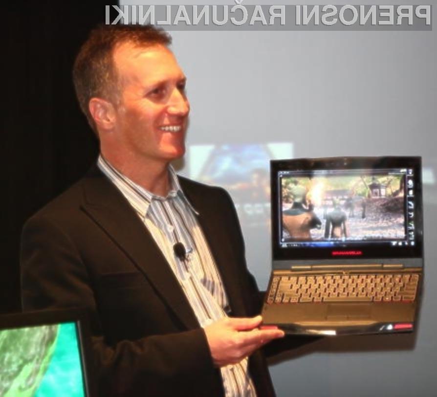 Žepni računalnik Alienware M11X je pisan na kožo tistim igričarjem, ki ljubijo mobilnost.
