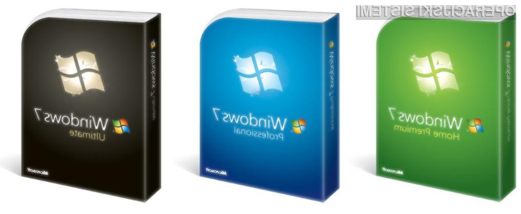 Prodaja Windows 7 razveseljuje zaposlene pri Microsoftu.