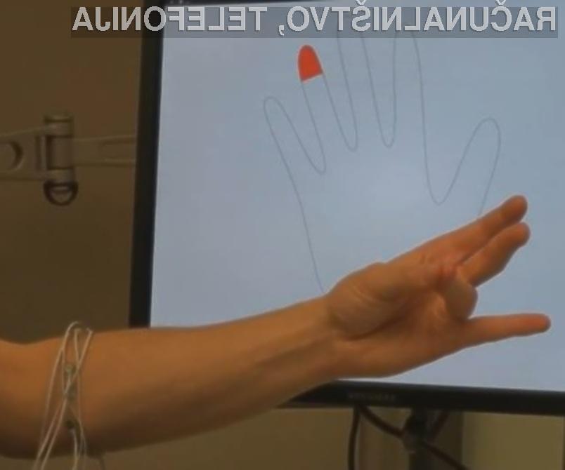Microsoftova vhodna računalniška naprava, ki temelji na osnovi elektromiografije, preprosto navdušuje!