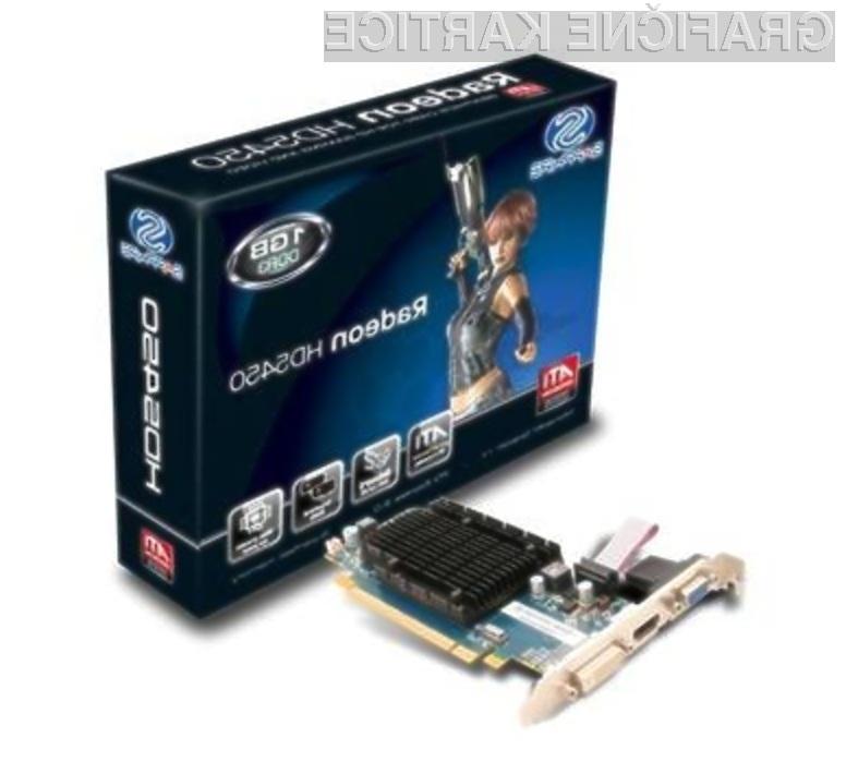 Grafična kartica Sapphire Radeon HD 5450 je kot nalašč za predvajanje večpredstavnostnih vsebin.