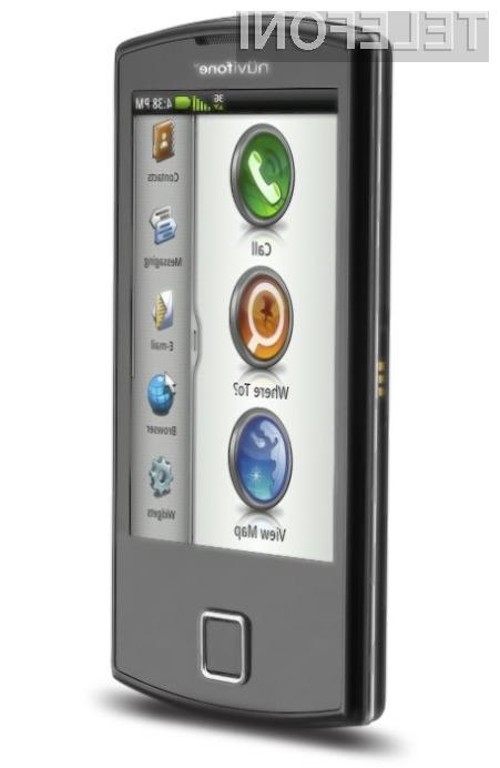 Z mobilnikom nuvifone A50 v žepu bomo v vsakem hipu našli želeno lokacijo.