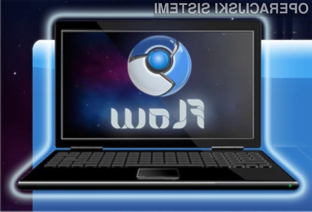 Operacijski sistem Google Chrome OS Flow je pisan na kožo žepnim računalnikom s platformo Nvidia Ion.