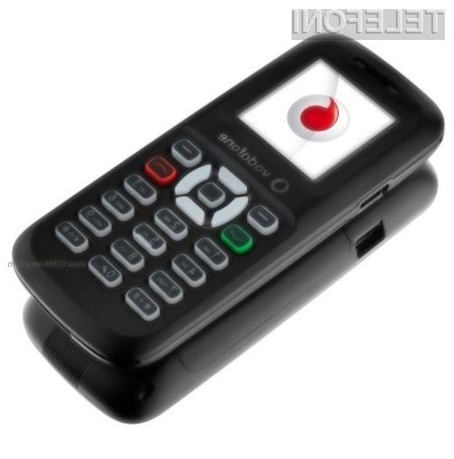 Mobilni telefon Vodafone 150 je trenutno najcenejši mobilnik na svetu!