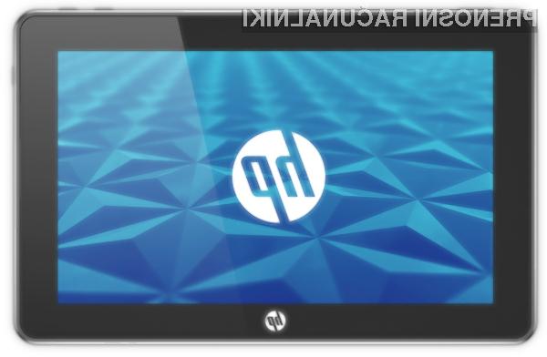 Tablični računalnik HP Slate bo po vsej verjetnosti naprodaj že v juniju!