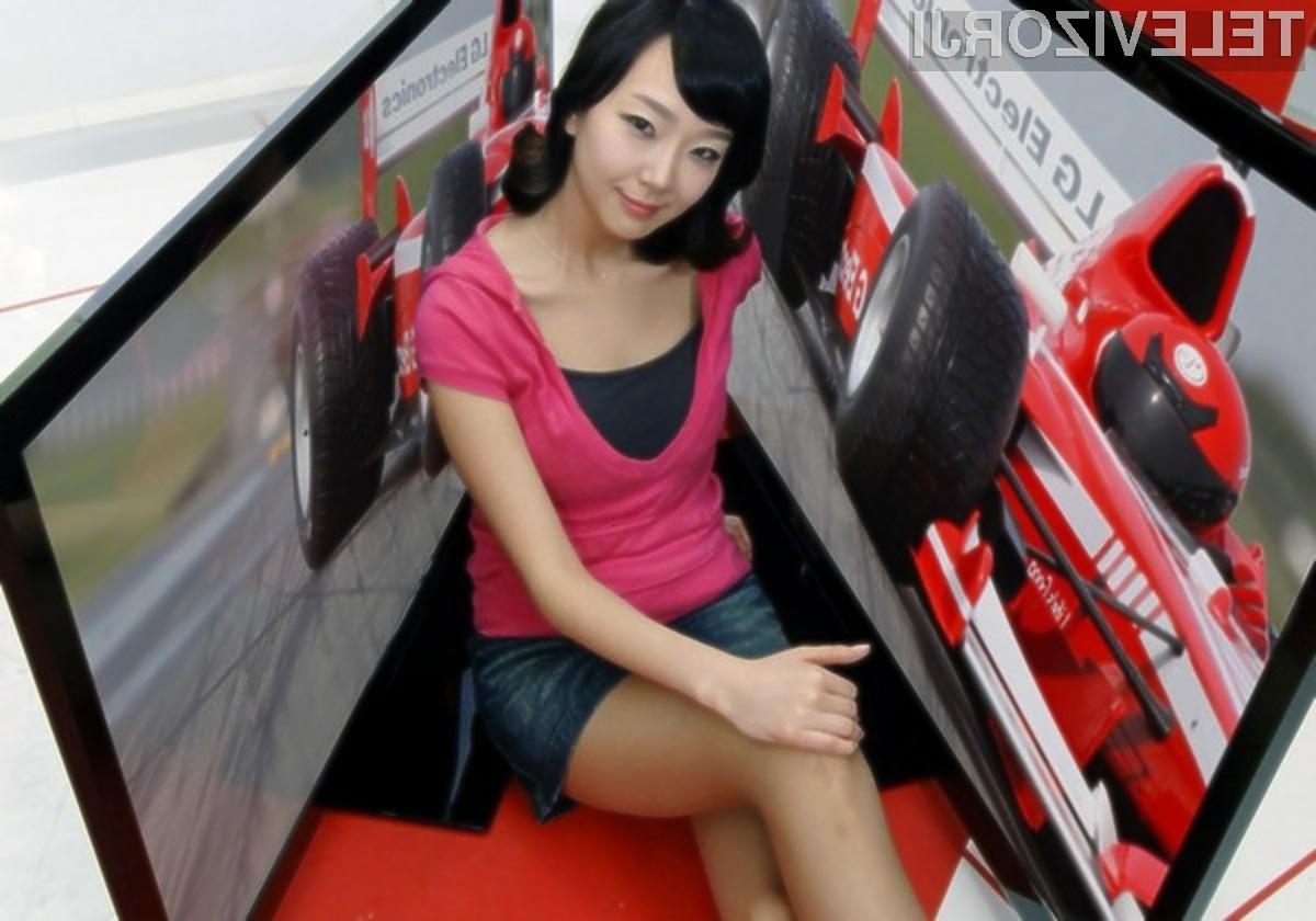 Z novimi televizorji LG družine Skinny Frame bo gledanje filmskih posnetkov pravi užitek!