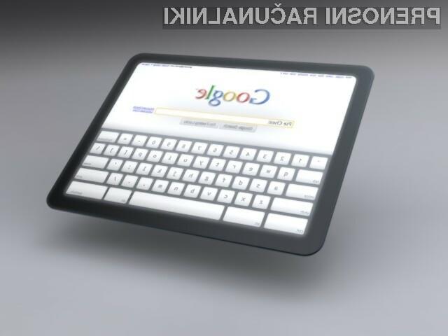 Googlov koncept tabličnega računalnika preprosto navdušuje!