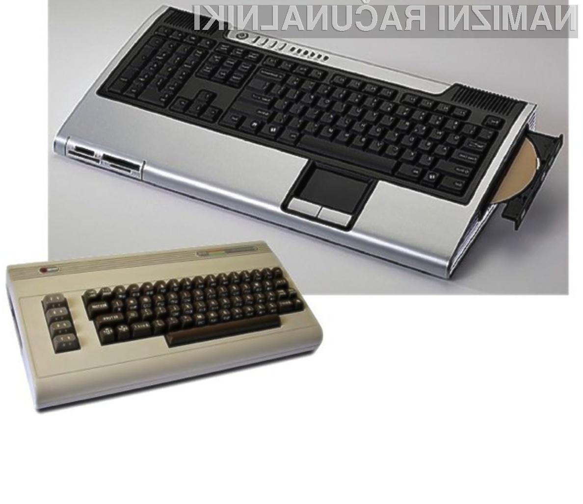 Novi kompaktni računalniki Commodore se bodo zagotovo tržili kot za stavo!