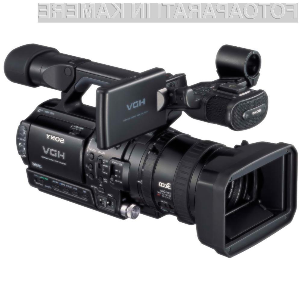 Starejše Sonyjeve 2D kamere dobivajo 3D naslednika.