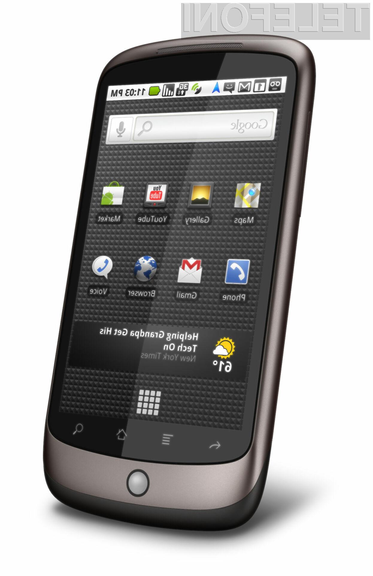 Začetek prodaje mobilnika Nexus One je bil manj uspešen, kot ga je bil deležen iPhone.
