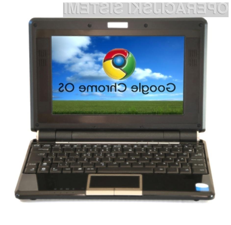 Ali bi lahko operacijski sistem Google Chrome OS v bližnji prihodnosti celo ogrozil nadvlado Oken?