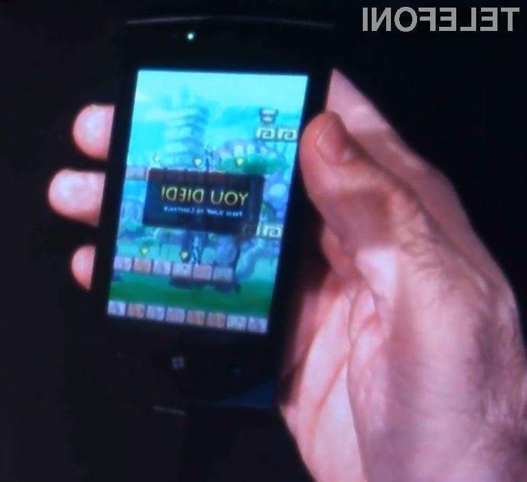 Novi Microsoftov mobilni operacijski sistem Windows Phone 7 se odlično obnese tudi v vlogi platforme za igranje računalniških iger.