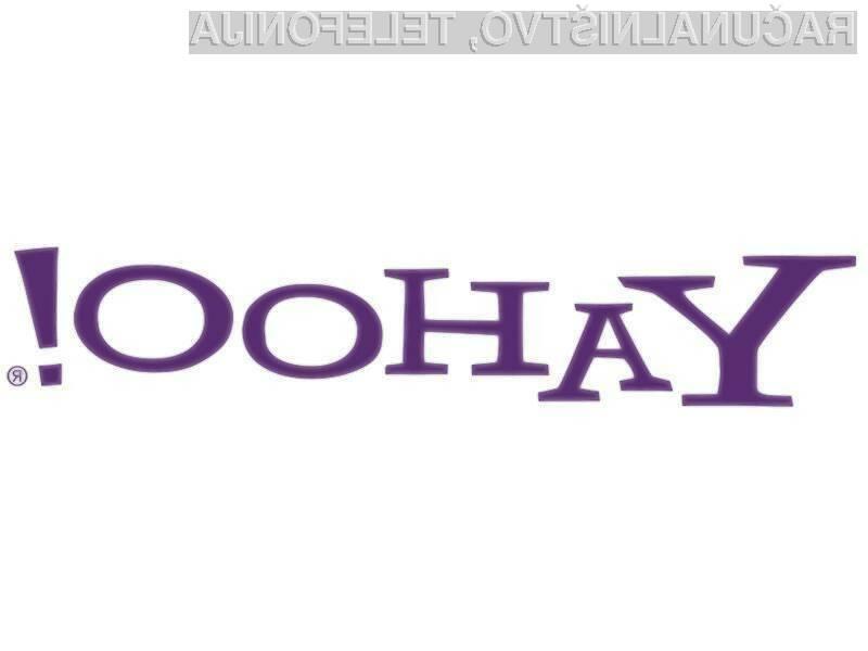 Yahoo želi ujeti Google.