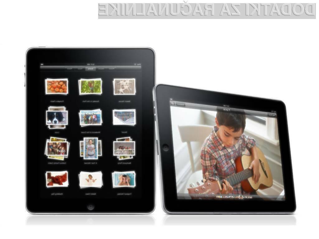 Priljubljeni tablični računalnik iPad naj bi kmalu dobil dostojnega naslednjika!