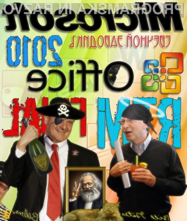 Ali Microsoft izgublja boj s programskimi pirati?