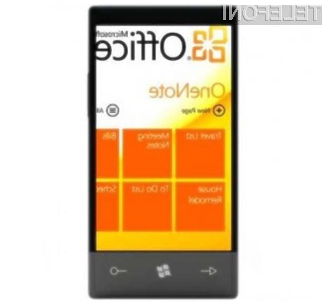 Prenovljeni mobilni pisarniški paket Office za Windows Phone 7 preprosto navdušuje!
