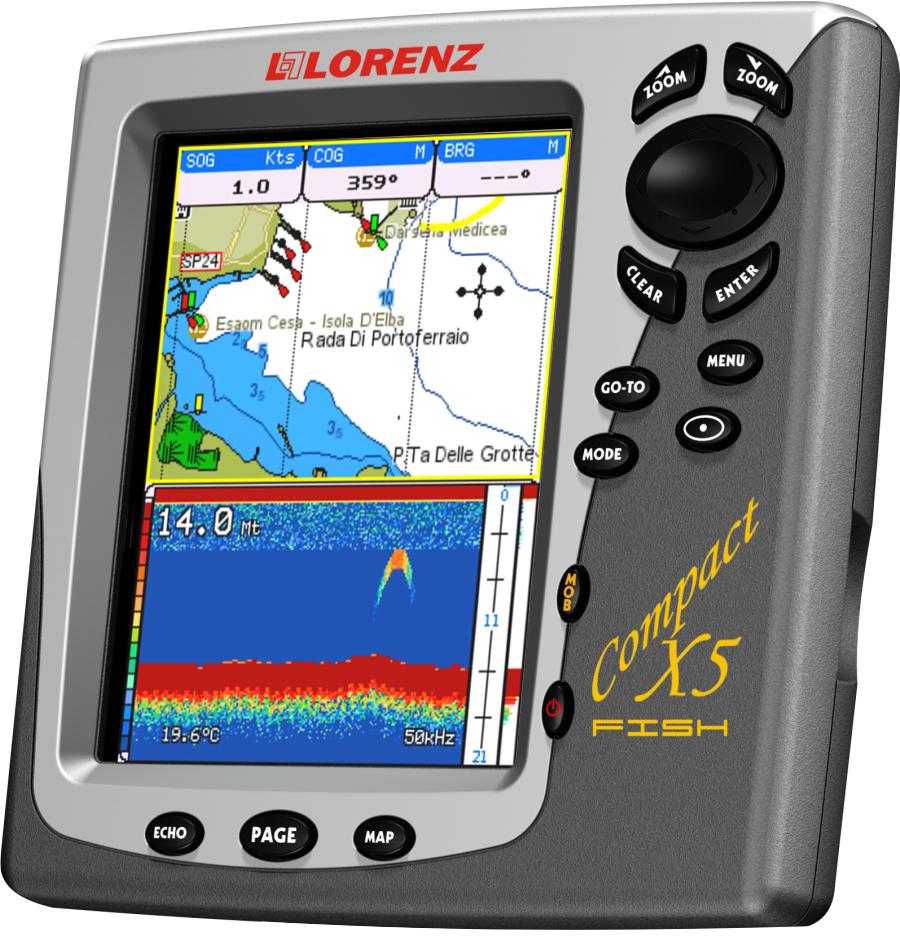 Lorenz Compact X5 FISH GPS